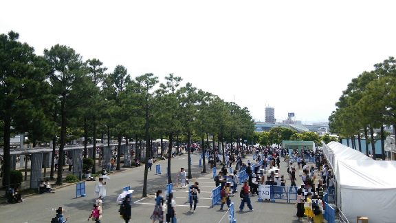 星野源 LIVE TOUR 2017『Continues』マリンメッセ福岡 グッズ売り場